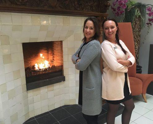 Masja Sins en Marleen Braaksma