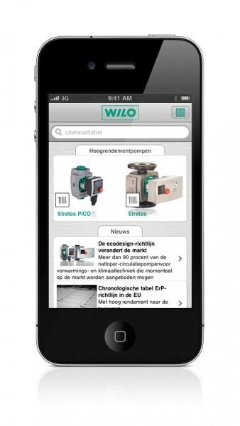 Wilo-Assistent voor smartphones