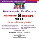 Poster 8 maart 2012