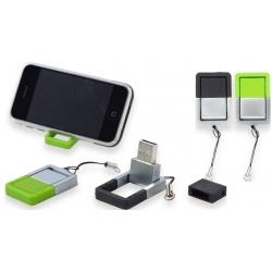 USB stick met mini telefoonhouder